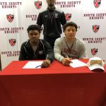 Tez Parker & Chris Leslie Signing Day