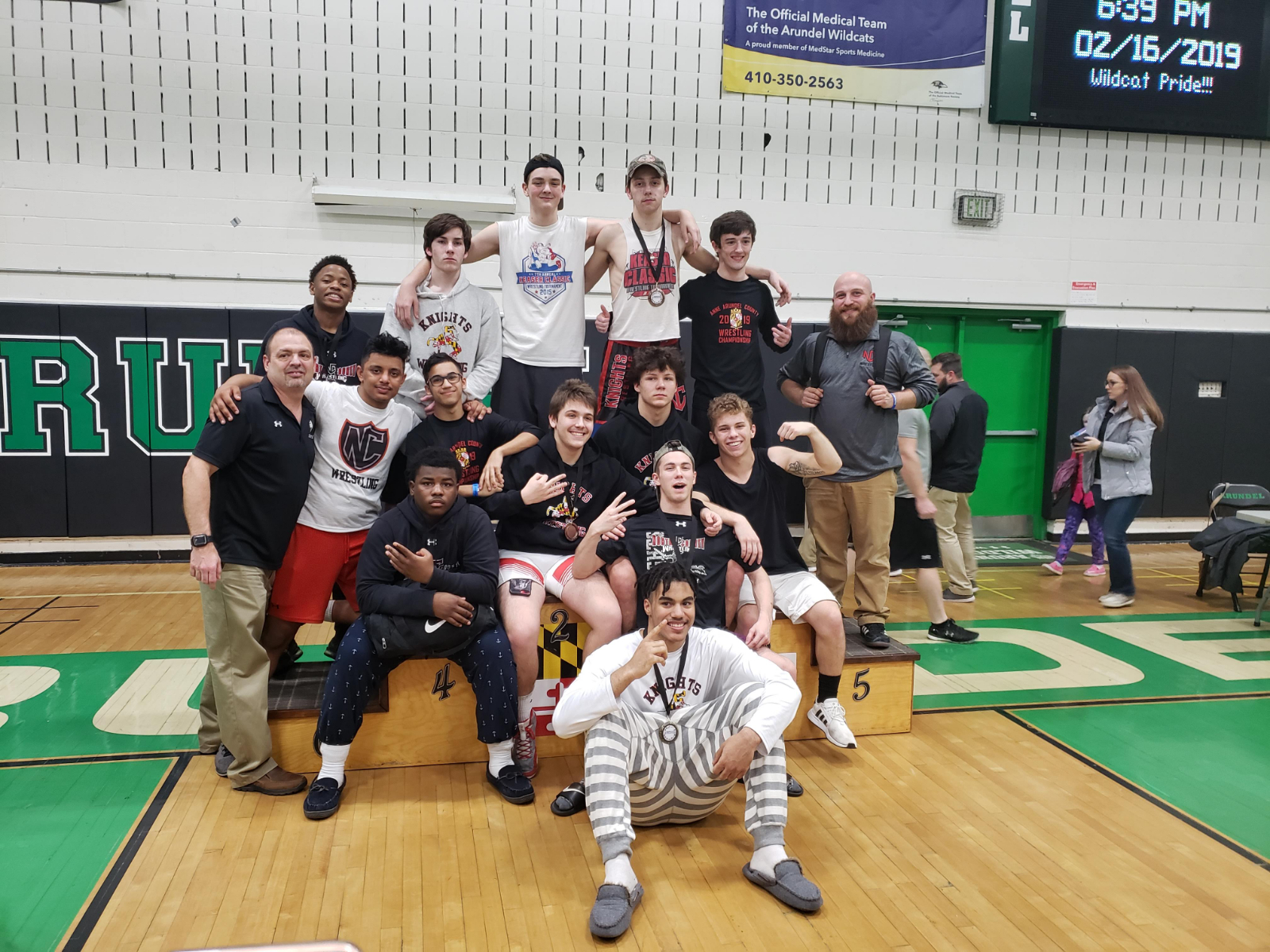 Wrestling Takes 3rd Place