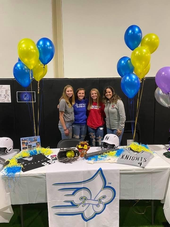 Congratulations NC Softball Seniors Early Signing Day