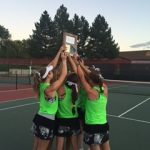 Congratulations Girls' Tennis.  Region Champs!!