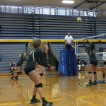 Olympus High School Girls Varsity Volleyball beat Cyprus High School 3-0