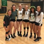 Olympus High School Girls Varsity Volleyball beat Hillcrest high school Utah 3-1