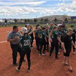 Girls Varsity Softball beats Dixie 9 – 7