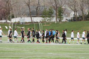 Boys Varsity Soccer v. Highland (4/6/18)
