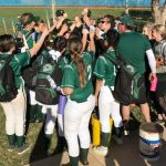 Oly Softball Runs Away from Cottonwood 12-1