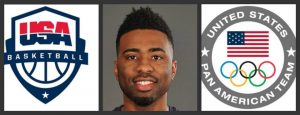 Ex-Panther Plays for Team USA