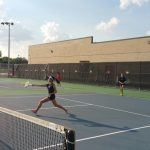 Panther Tennis Evens Dist. Record w/ Win Over Sam