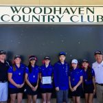 NC  Girls' Golf Wins 1st Tourny @ Woodhaven
