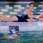 Swim Team Competes in Waco & Improve Times