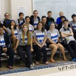 North Crowley High School Varsity Swimming Competes in First Swim Meet