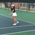 Panther Tennis Opens District with a Win