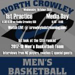 NC Men's Basketball Team to Podcast 1st Practice/Media Day