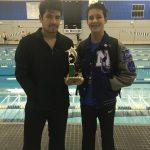 NC Boys Vars. Swim Team Finishes 2nd