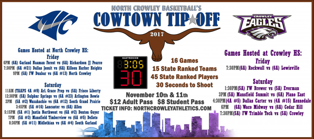 Cowtown Tipoff Ticket Information
