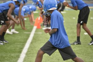 Freshman Pre-season Practice 08-14-18