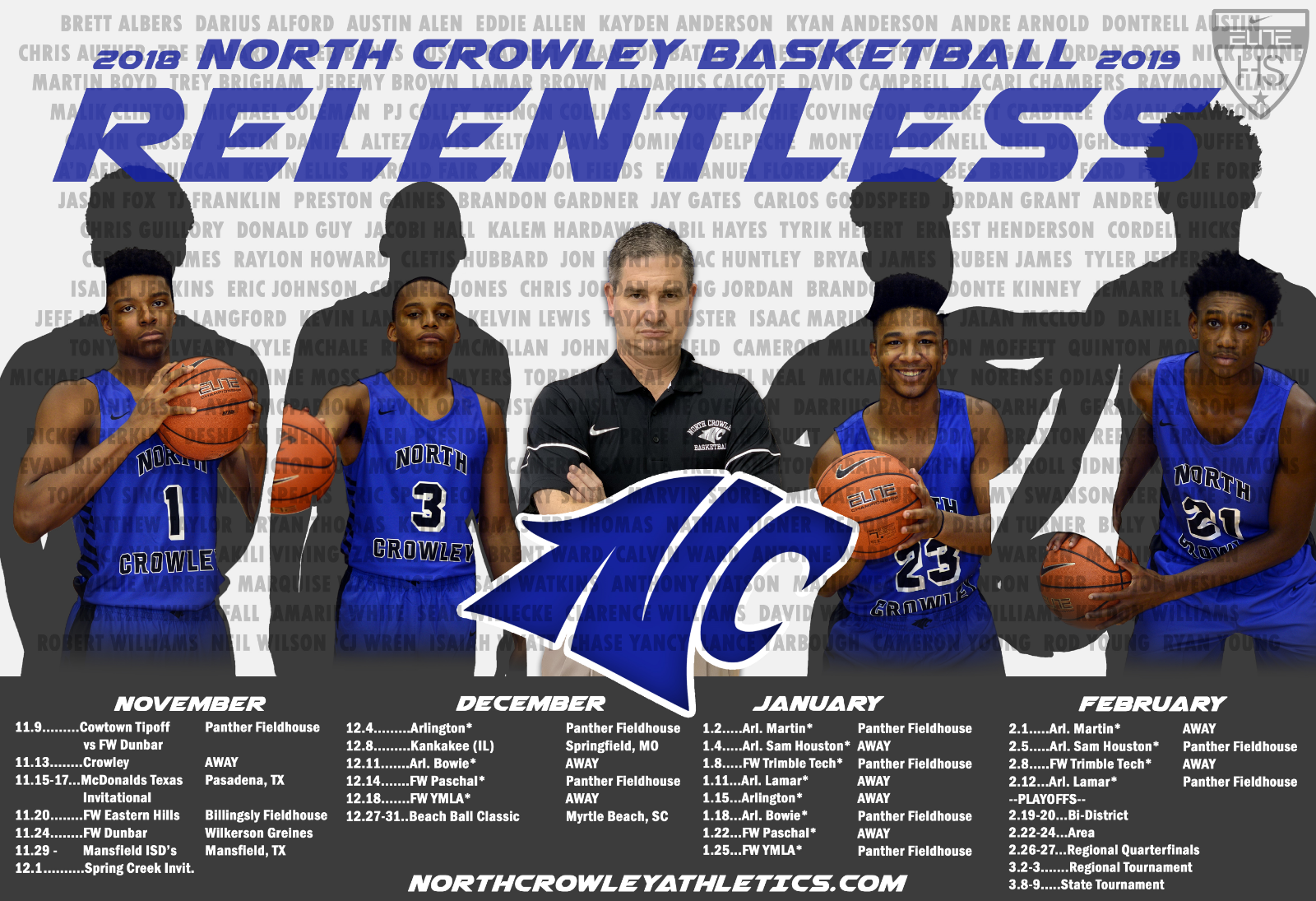 NC Men's Basketball – Update & Schedule