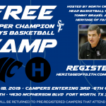NC Basketball/Heritage of Faith Boys' Basketball Camp