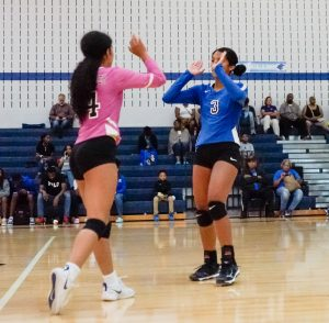 Volleyball Varsity vs. Bowie Volunteers 09-03-19