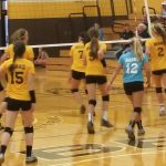 JH Lady Bears sweep Richmond's Dennis MS