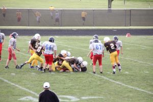 8th grade vs Southern Wells won 20-0 (8/25/15)