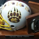 Bears win Harvest Helmet for 3rd year in a row; Writtenhouse gets 293 yards, 3 scores