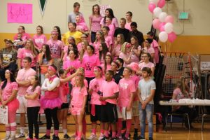 Varsity Volleyball & Light the Night (10/07/15)