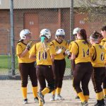 Lady Bears win MEC opener over Wes-Del, 12-5