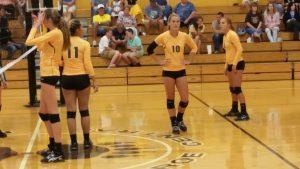 Volleyball scrimmage vs. Northeastern 8/10