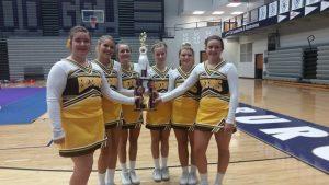 MC Cheer squad competes at Brownsburg