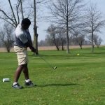 Bear linksters fall short at Muncie Central