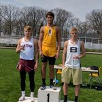 Bears finish 6th in Churubusco track invite; Mitchell breaks records