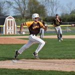 Knights score 10 times in last 3 innings to beat Bears, 12-7