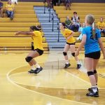JH Ladies sweep Northeastern in season openers