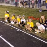 Grizzly Football, Cheer night at MC