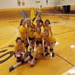 7th grade Ladies capture MC Invite title