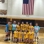 8th grade volleyball takes MC Invite title