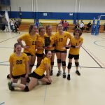 7th grade Lady Bears take County crown