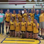 8th grade Lady Bears sweep Southern, Driver to win County title