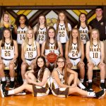 8th grade Lady Bears improve to 12-0 with 50-2 win