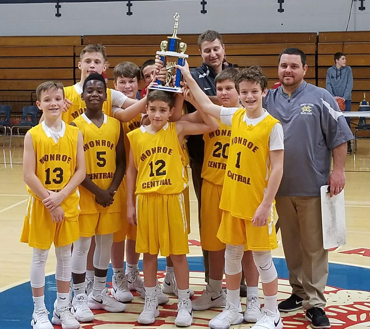 7th grade beats Blackford, Daleville, wins EJ invite title; now 17-0