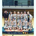 8th grade Lady Bears win EJ Invite, now 14-0