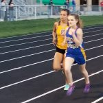 Girls track sectional tonight at Delta