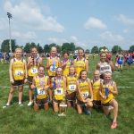 Girls Jr High Cross Country finishes 1st place at Meister Invitational