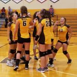 Jr. High Volleyball 2nd @ County