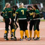 Lady Dragon Softball Splits with Akron
