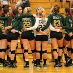 Dragon Volleyball Falls to Home Town Rivals