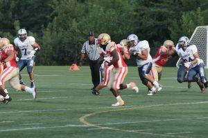 Varsity Football vs. Magruder High School