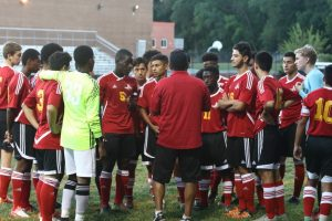 Boys Varsity Soccer  vs. Rockville High School