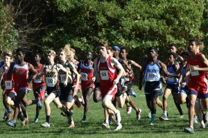 Boys Varsity Cross Country DCC Championship