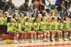 Varsity Cheerleaders Holiday Performance